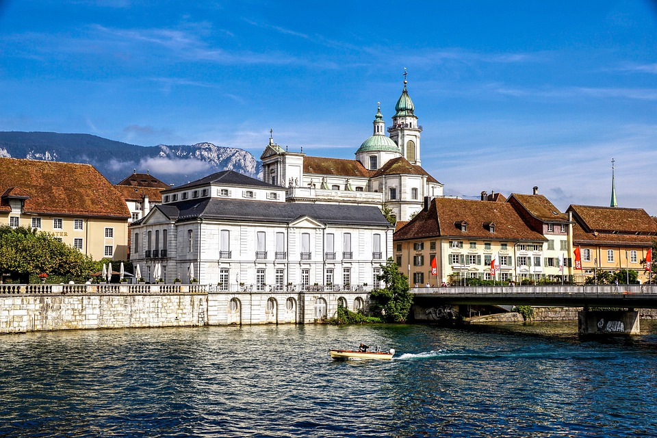 St Ursus Cathedral, Solothurn, Cathedral, Switzerland
