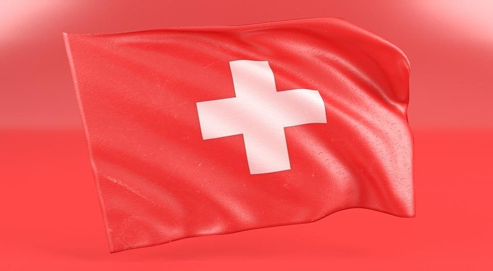 Swiss, Flag, Switzerland, Red, Color, White, Light