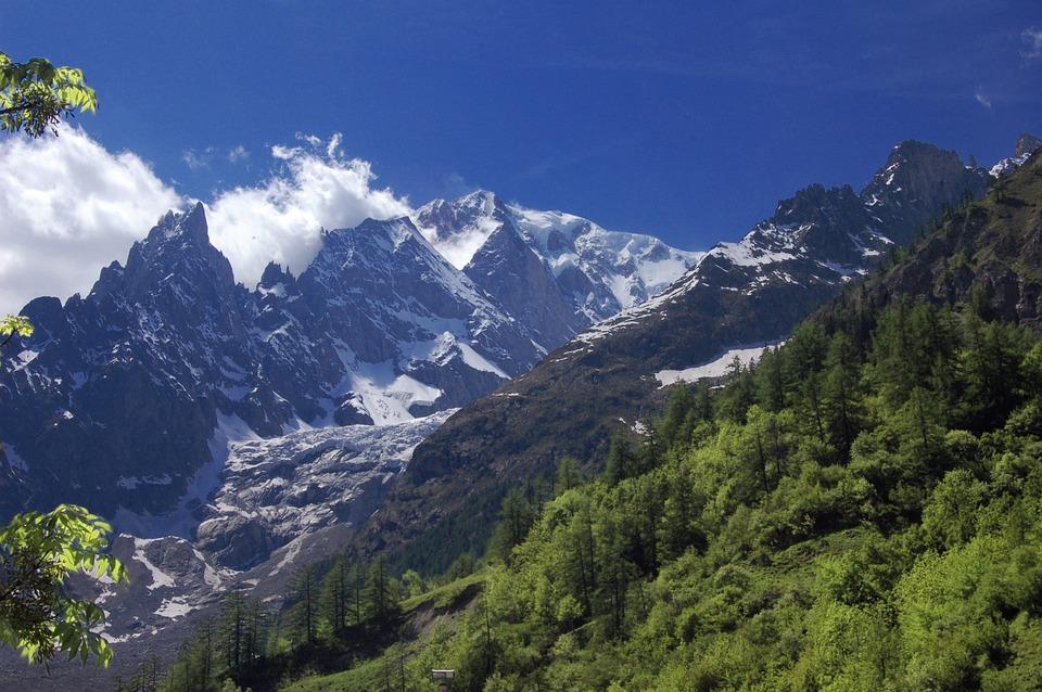Valle D'aosta, Italian Republic, Switzerland, Piedmont