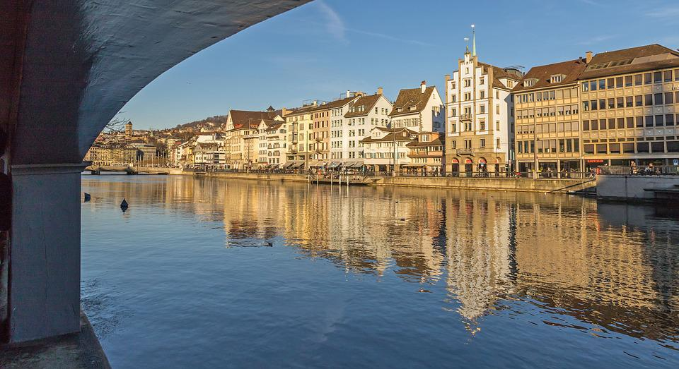 Switzerland, Zurich, Water