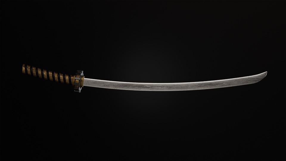 Katana, Sword, Weapon, Japanese Sword, Blade, Sharp