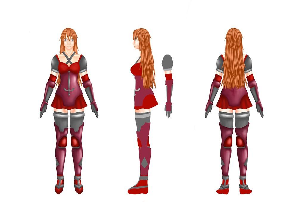 Character, Swordsman, Woman