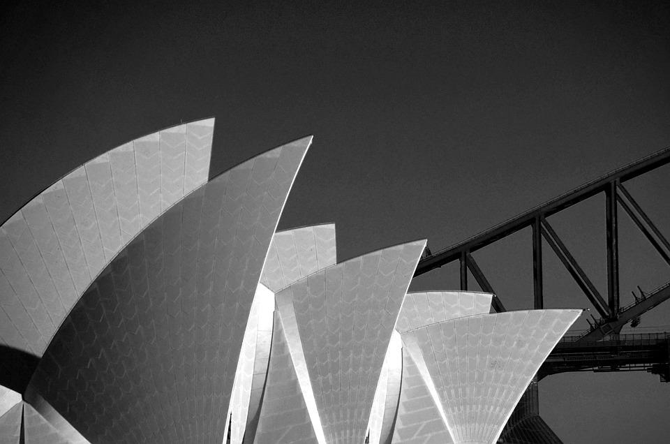 Opera House, Roof, Harbour Bridge, Sydney, Australia