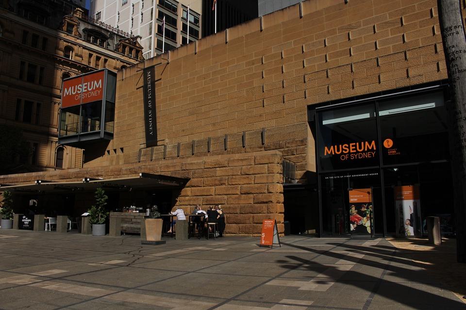 Museum, Sydney, Sandstone