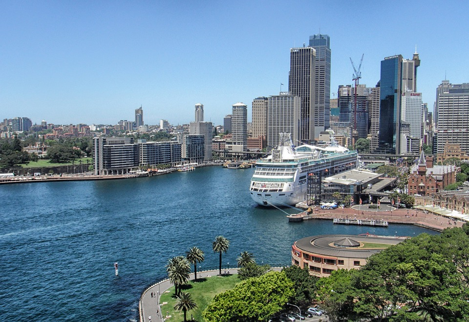 Sydney, Australia, Buildings, Skyscrapers, Skyline