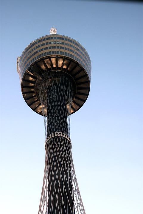 Sydney Tower, Sydney, Architecture, Skyline, Tower