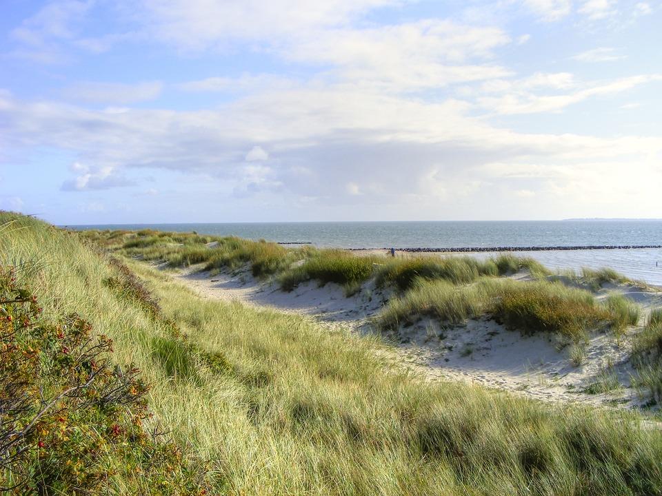 Sea, Island, Dunes, Sylt, Beach, North Sea, Nature