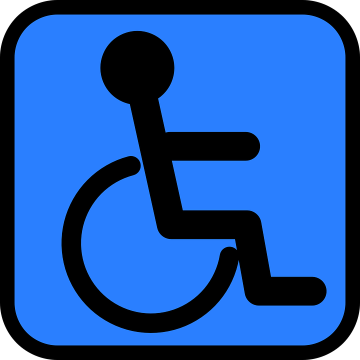 free photo symbol accessible person accessibility wheelchair max pixel