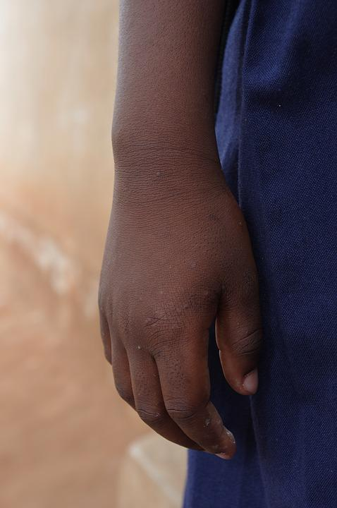 Hand, Africa, East Africa, Tanzania, Child, Symbol
