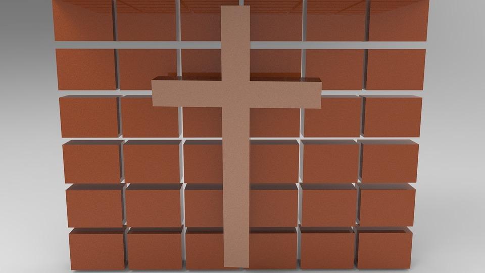 Cross, Chain, Faith, Catholic, Religion, Symbol, Jesus
