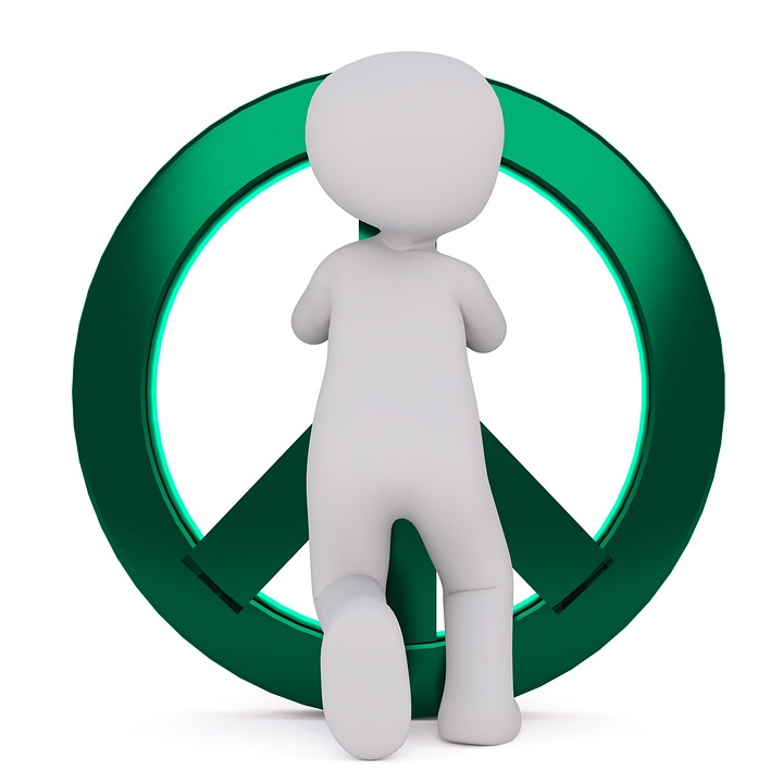 Free Photo Symbol Characters Green Peace Sign Harmony Peace Max Pixel