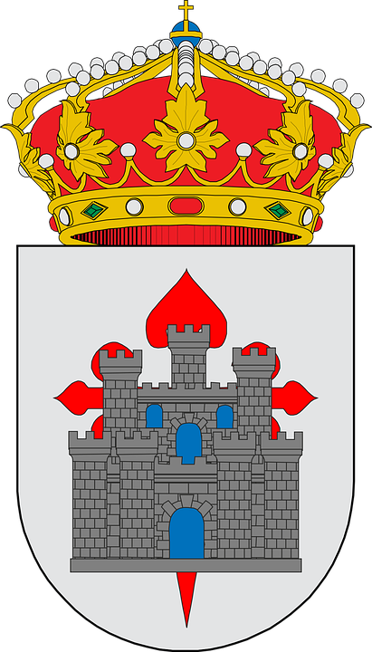 Azuaga, Coat Of Arms, Symbol, Emblem, Design, Spain