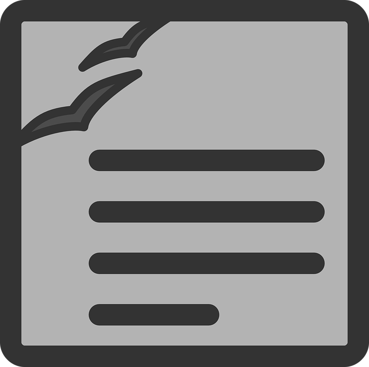 Document, Text, Icon, Symbol, Gray Document