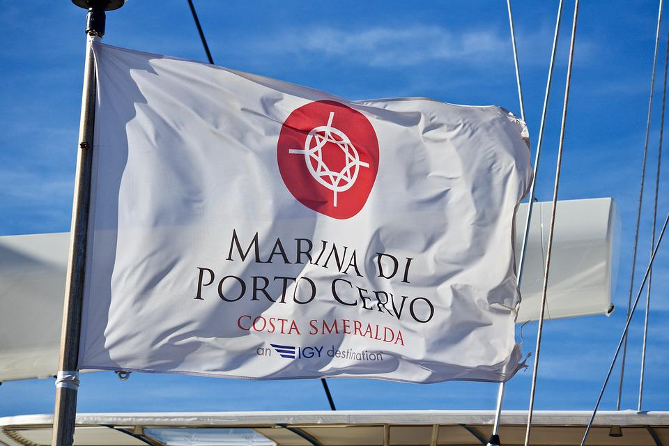 Flag, Nautica, Sardinia, Symbol, Vela, Sea, Emblem