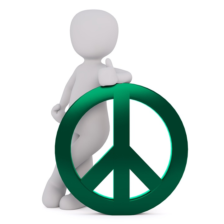 Free Photo Symbol Green Characters Peace Peace Sign Harmony Max Pixel