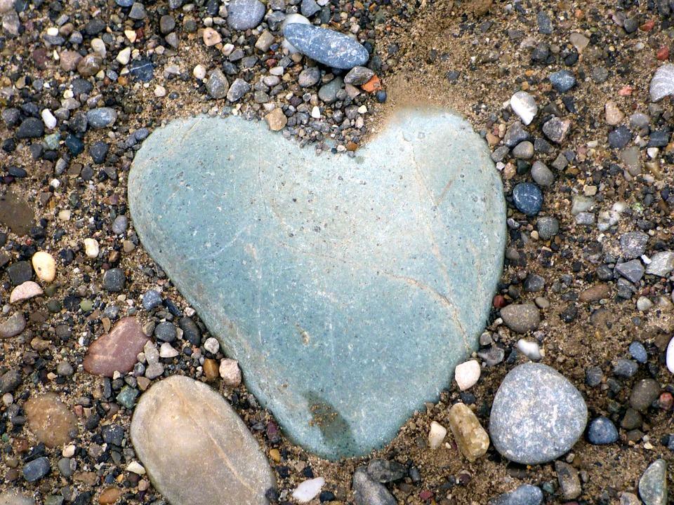 Heart, Pierre, Symbol, Love, Romantic, Nature, Feelings