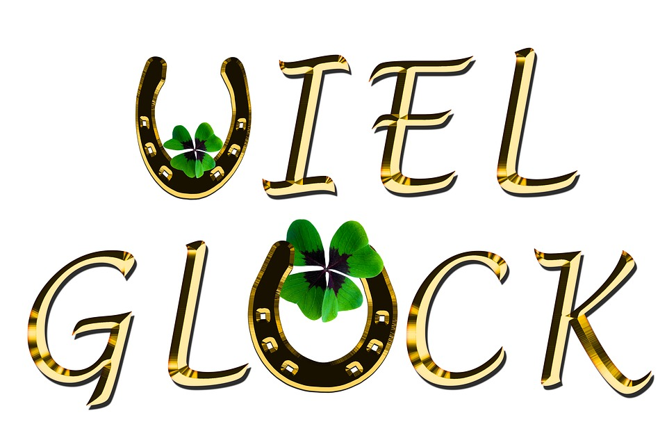 Free Photo Symbol Luck Good Luck Four Leaf Clover Horseshoe Max Pixel