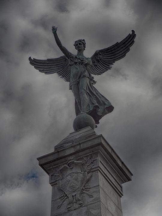 Free Photo Symbol Montreal George Etienne Cartier Wings Angel Max