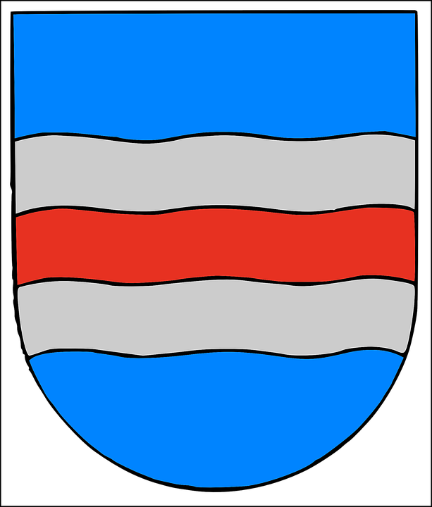 Coat, Of, Arms, Blue, Symbol