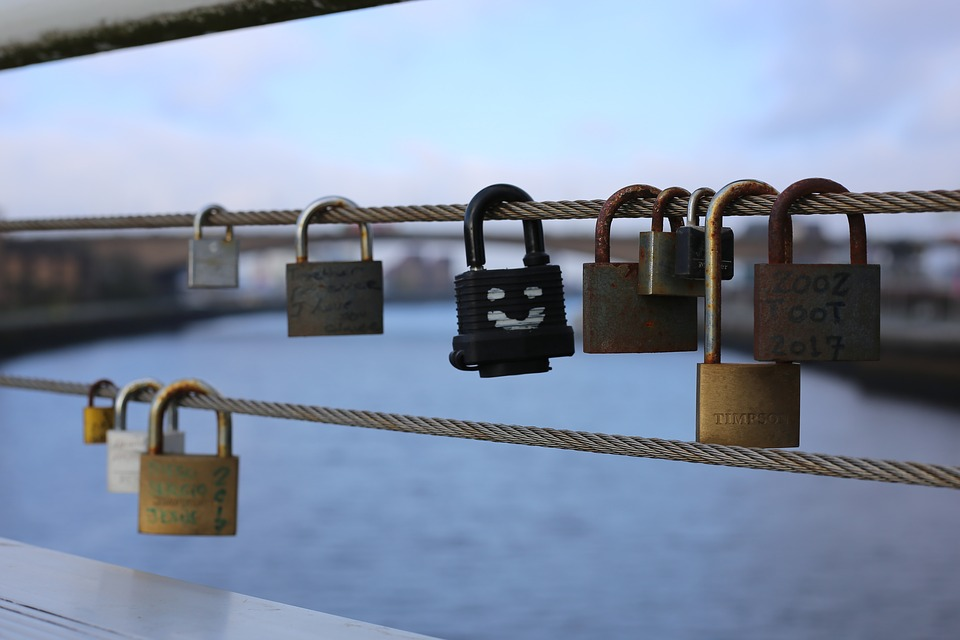 Padlocks, Love, Padlock, Romantic, Bridge, Symbol