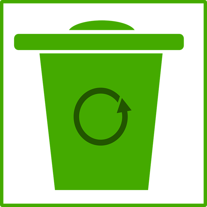 Trash, Sign, Symbol, Ecology, Green, Recycle