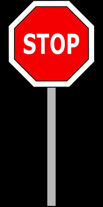 Stop, Signal, Traffic, Road, Street, Sign, Symbol