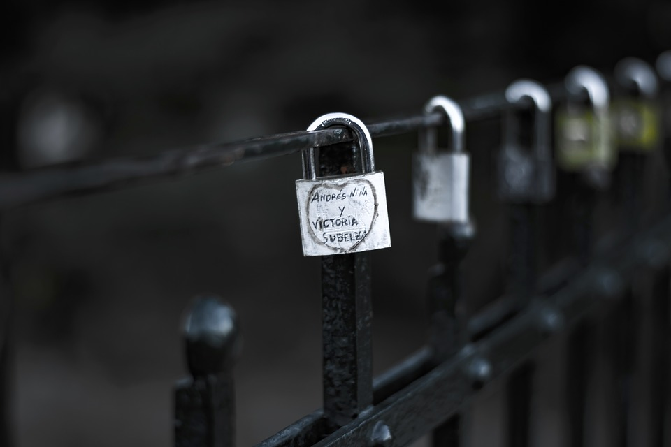 Padlock, Love, Heart, Romantic, Symbol, Romance