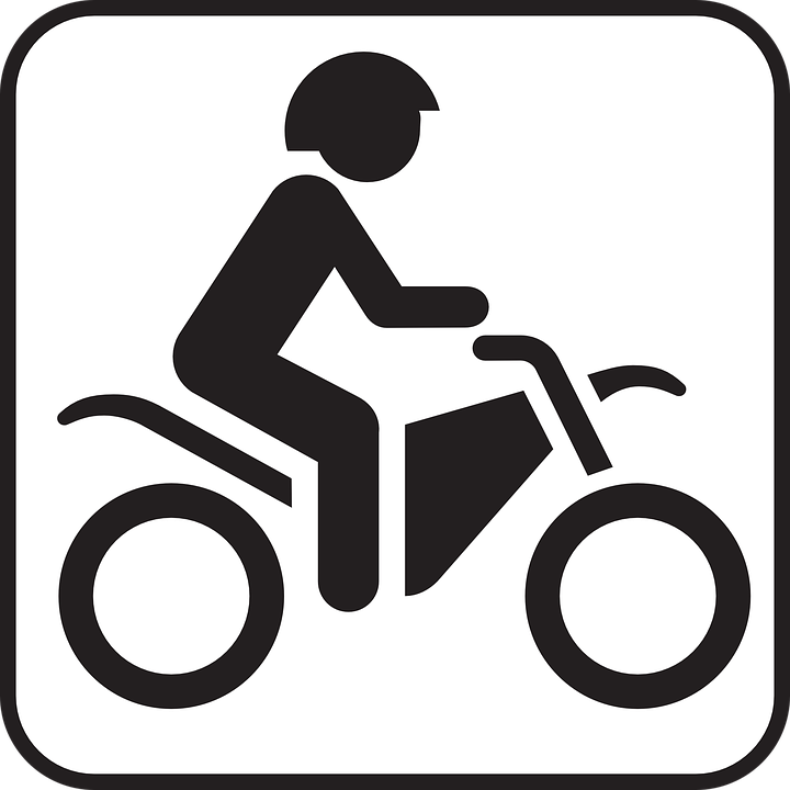 Motor Scooter, Motor-bike, Scooter, Driving, Symbol