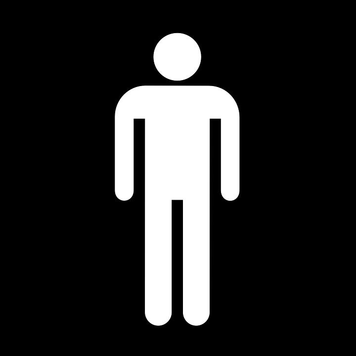 Man, Men, Human, Wc, Toilet, Symbol, Sign, Icon