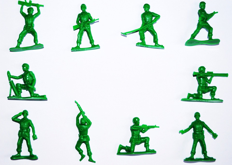 Symbol, Army, Soldiers, Toy, Figures, Business
