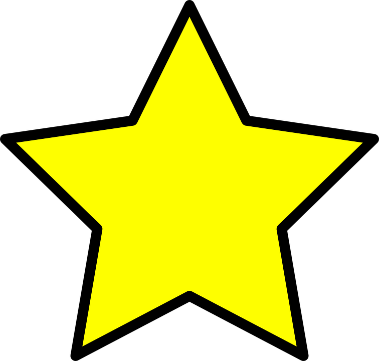 Star, Yellow, Symbol