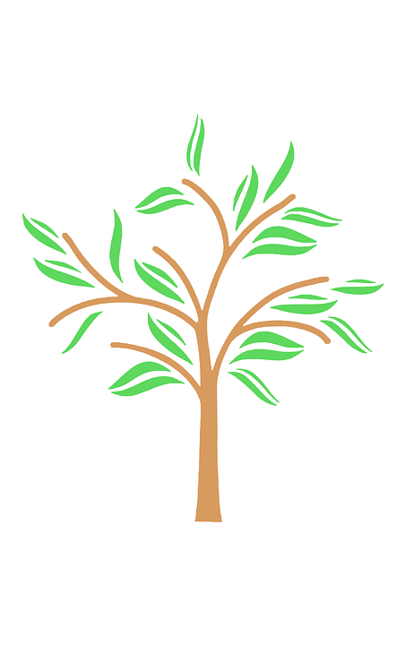 Tree, Symbol, Vector