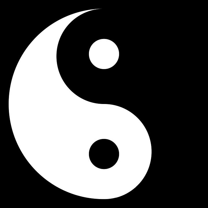 Free Photo Symbol Yin Yang Chinese Good Bad Yang Yin Max Pixel