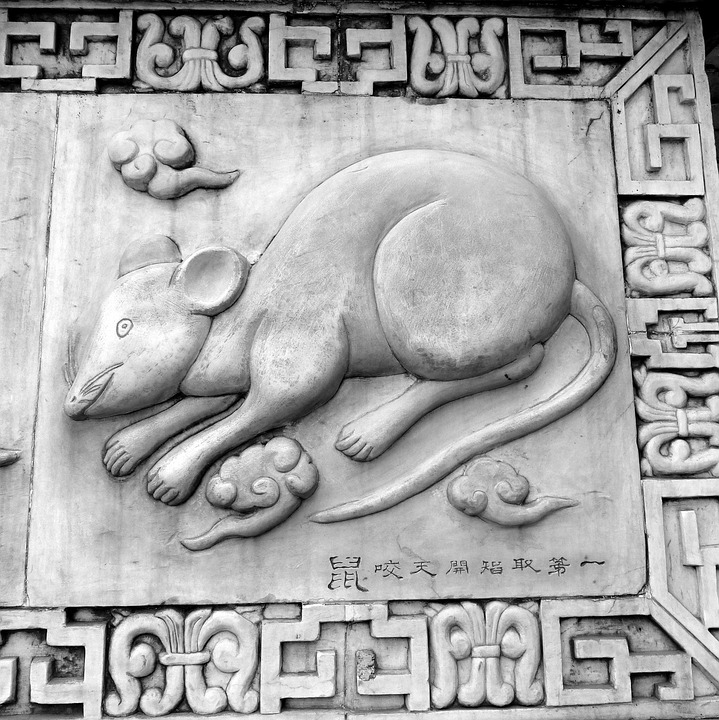 Free Photo Symbols Asian Chinese Rat Culture Symbol Max Pixel