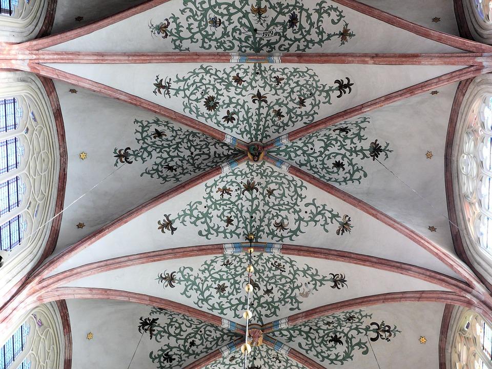 Church, Dakgewelf, Symmetry