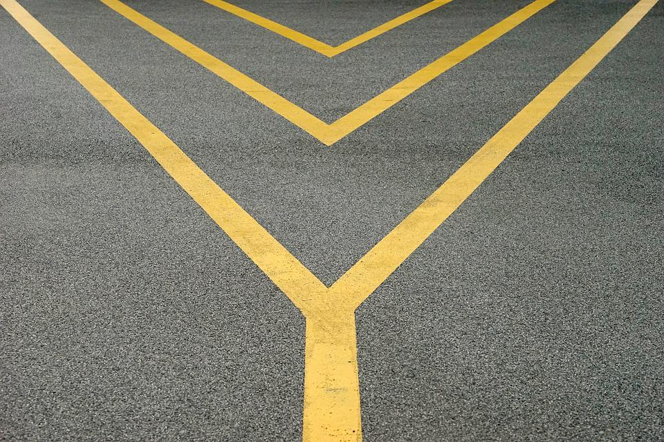 Road, Line, Symmetry