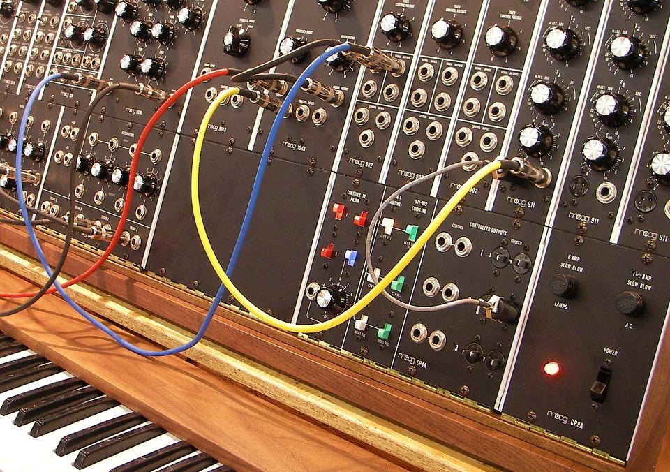 Moog, Synthesizer, Moog Modular, Musical Instrument