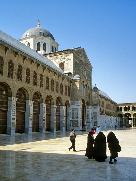 Syria, Damascus, Omejaden, Mosque, Islam, Architecture