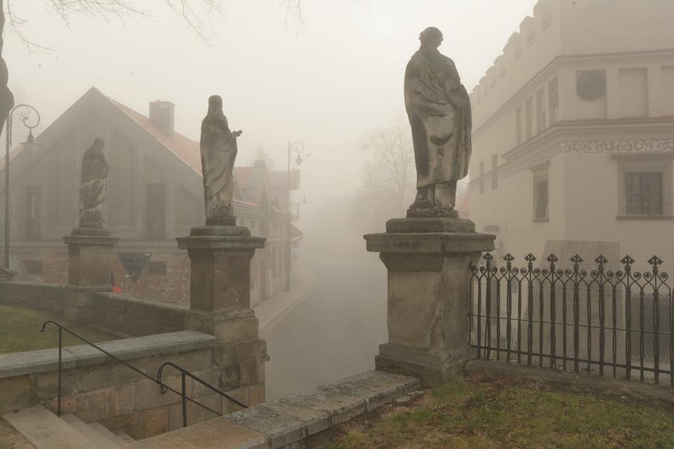The Fog, Biecz, Beskid Niski, Szadz, Szrom, Evaporation