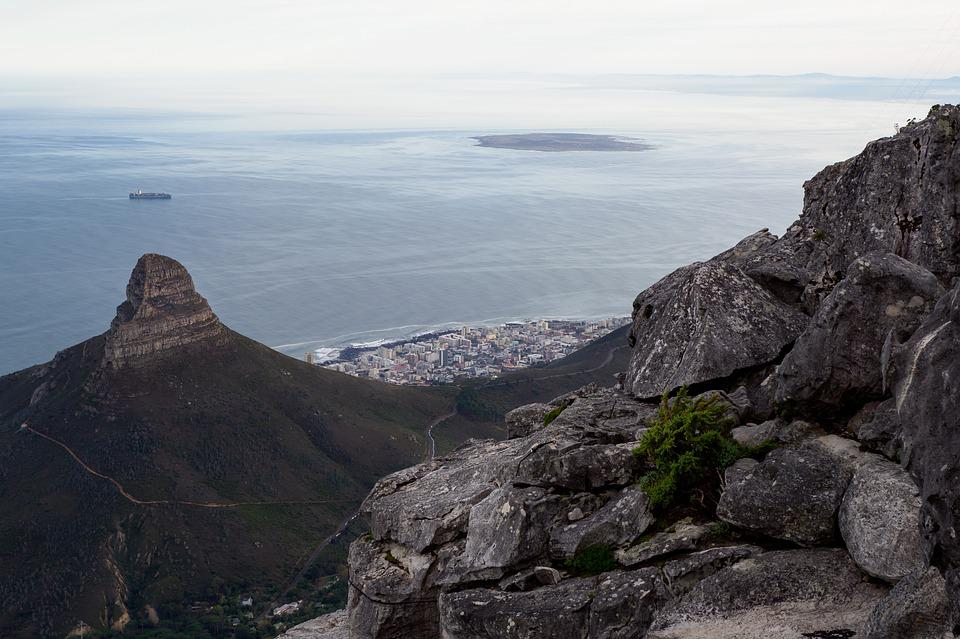 Table Bay, Robben Island, Seapoint, Lion's Head