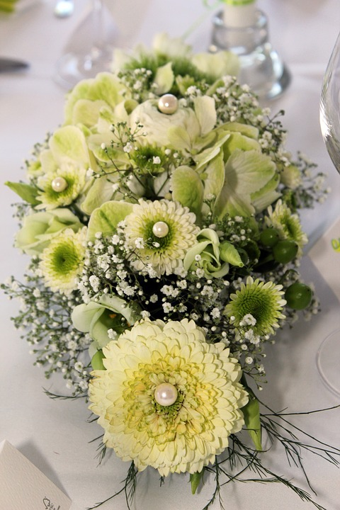 Table Decoration, Floral Arrangement, Flowers