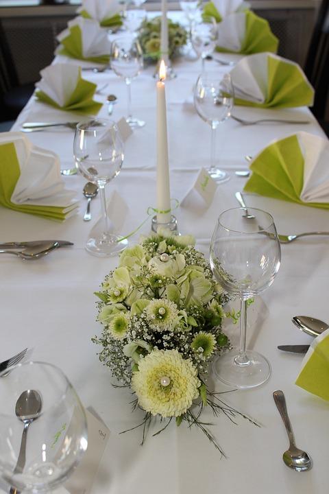 Table Decoration, Floral Arrangement, Flowers