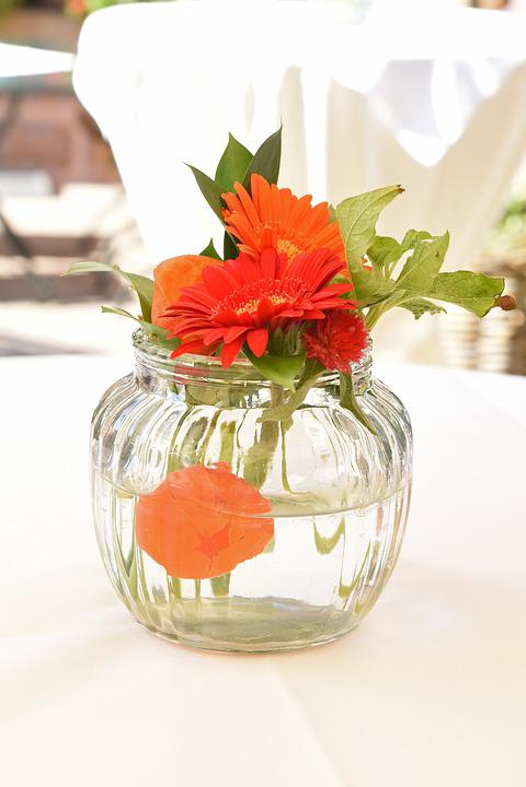 Flower, Glass, Vase, Table Decorations, Still Life