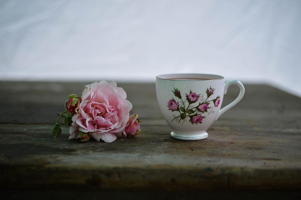 Coffee, Cup, Drink, Flora, Flower, Hot, Mug, Table, Tea