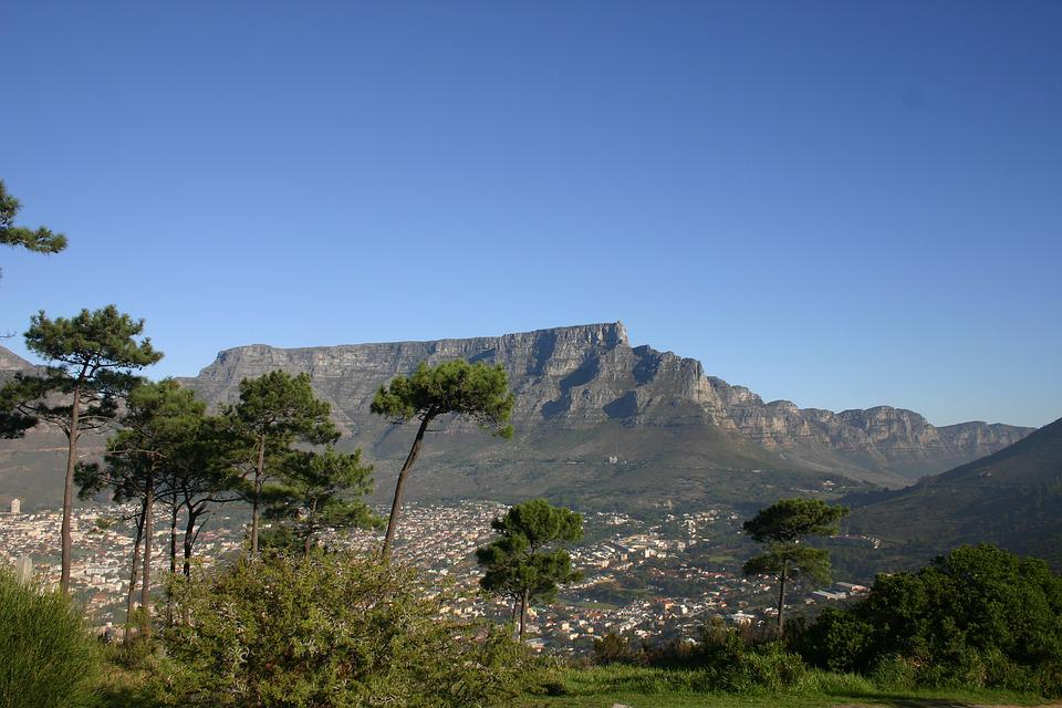 Sky, Table Mountain, South Africa