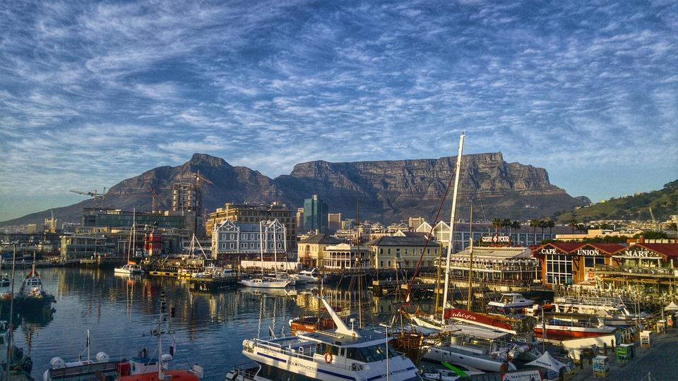 Cape Town, Table Mountain, Waterfront, Mountain