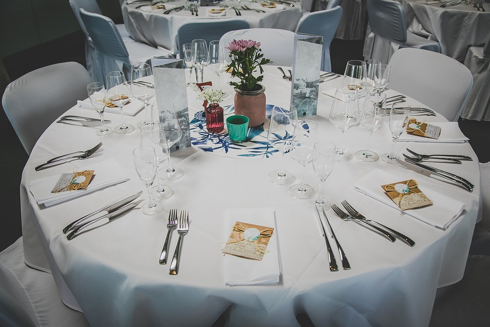 Table, Wedding, Decoration, Event, Dinner, Restaurant