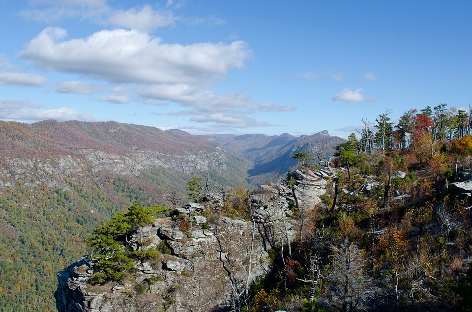 Linville Gorge, Canyon, Rocks, Table Rock