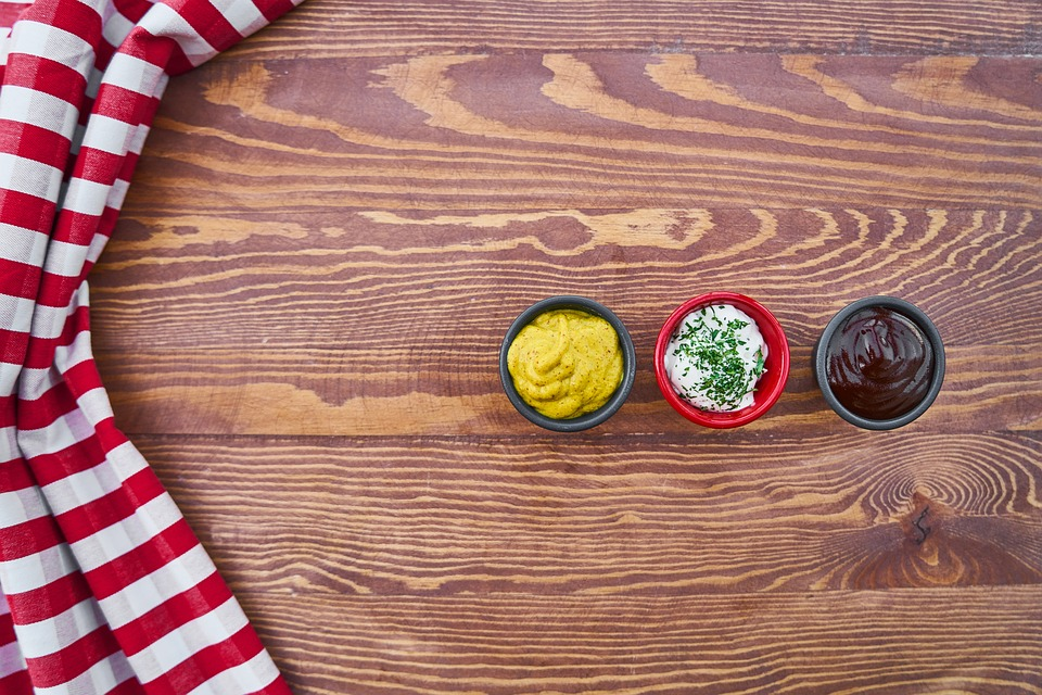 Food, Sauce, Table, Mustard, Mayonnaise, Barbecue
