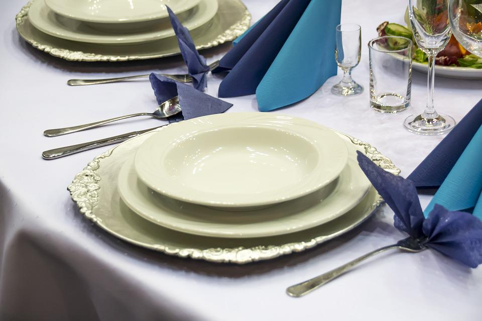 Free Photo Table Setting Catering Cutlery Tableware Max Pixel - Catering table setting